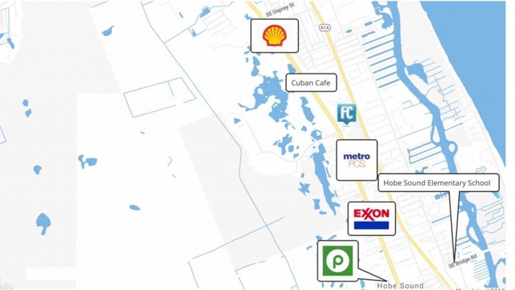 0 Hobe Sound, Hobe Sound, Fl 33455 - Land For Sale - 0 Hobe Sound - Map Of Florida Showing Hobe Sound