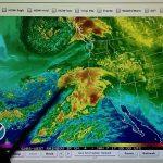 1 6 2017; Rain Forecasted For So. Ca; Doppler Radar Shows Microwave   Doppler Map California
