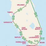 1 Week Florida Road Trip: Miami, The Atlantic Coast, & Orlando   Map Of Florida Vacation Spots