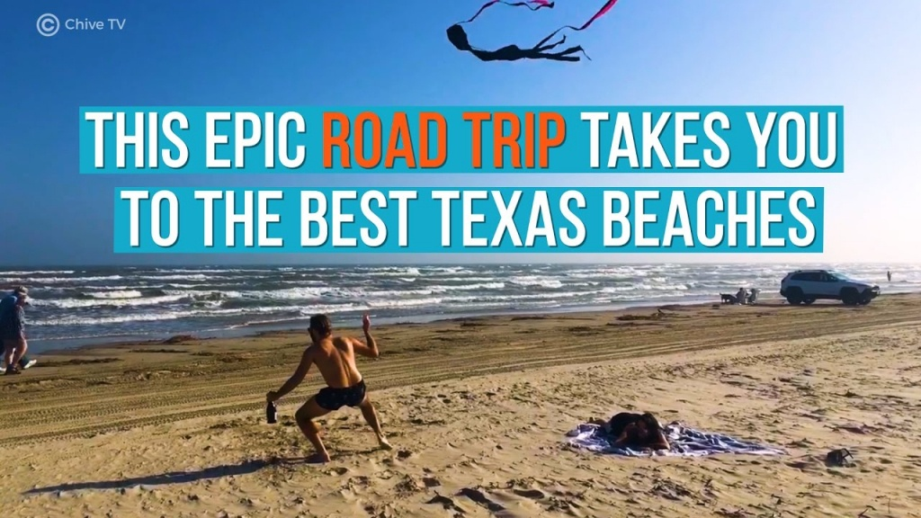 10 Best Beaches In Texas (With Photos & Map) - Tripstodiscover - Best Texas Beaches Map