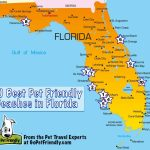 10 Of The Best Pet Friendly Beaches In Florida | Gopetfriendly   Map Of Florida Beaches Gulf Side