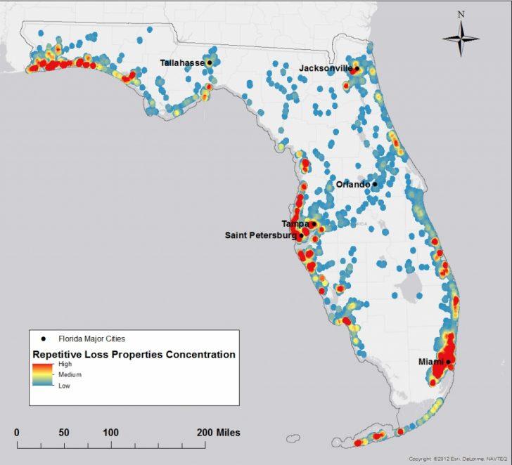100 Year Flood Map Florida