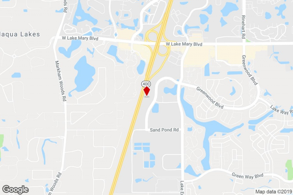 1064 Greenwood Blvd, Lake Mary, Fl, 32746 - Property For Lease On - Map Of Lake Mary Florida And Surrounding Areas