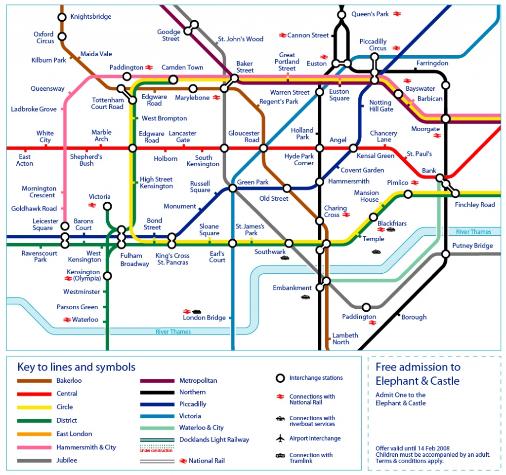 12 Best Photos Of Printable London Tube Map - Printable Tube London - Printable London Tube Map 2010
