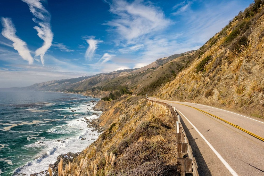 13 Incredible Stops On A Pacific Coast Highway Road Trip - California Highway 1 Scenic Drive Map
