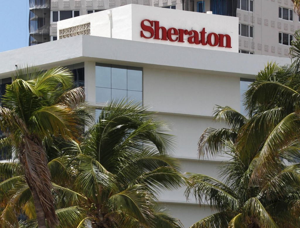 $14-Billion Bid For Starwood Hotels Puts Chinese Firm Anbang In - Spg Hotels California Map