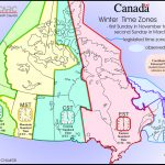 15 Interesting Maps That Will Change The Way You See Canada - Canada Time Zone Map Printable