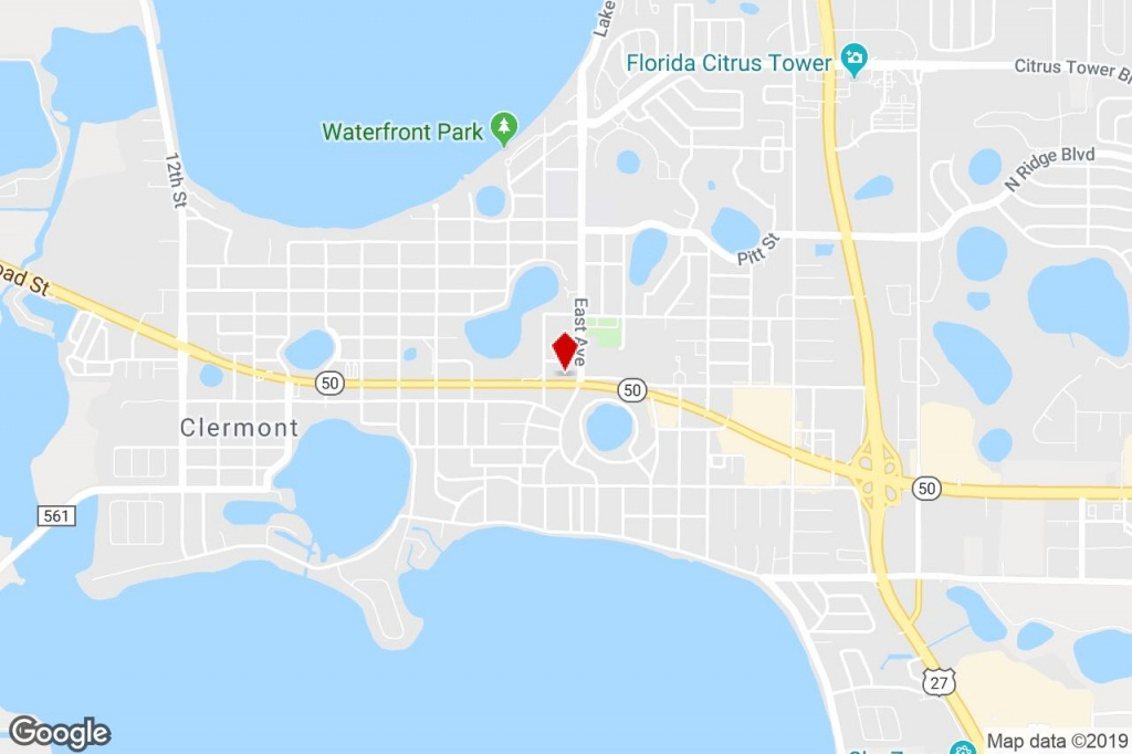 150 W Highway 50, Clermont, Fl, 34711 - Freestanding Property For - Google Maps Clermont Florida