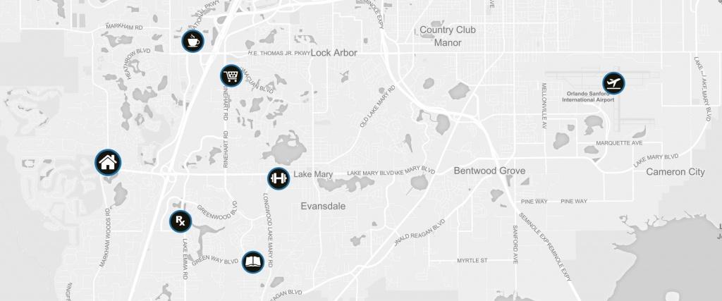 1521 Farridon Cir Lake Mary, Fl 32746 | Rp Funding | Florida Mortgages - Lake Mary Florida Map