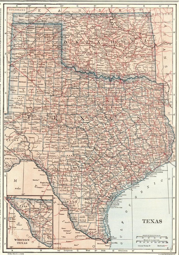 Map Of Oklahoma And Texas Together
