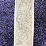 1917 Southern California Aaa Strip Map Index Of Strip Maps | Etsy - Aaa California Map