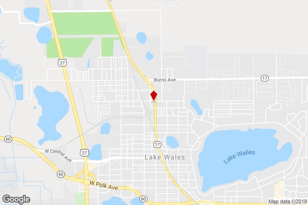 194 Dr J A Wiltshire Ave E, Lake Wales, Fl, 33853 - Warehouse - Lake Wales Florida Map