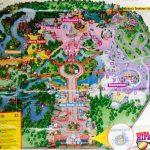 1997 Magic Kingdom Park Map - Themeparkhipster - Magic Kingdom Florida Map