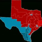 2012 United States House Of Representatives Elections In Texas   Texas Congressional Map