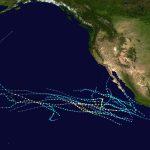 2016 Pacific Hurricane Season   Wikipedia   Printable Hurricane Tracking Map 2016