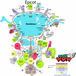 2017 Epcot Maps Printable | Easy Guide – Easywdw | I Wanna Go! In - Printable Epcot Map 2017