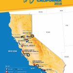 2018 Amgen Tour Of California Men's And Women's Race Routes   Tour Of California 2018 Map
