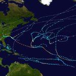 2018 Atlantic Hurricane Season   Wikipedia   Printable Hurricane Tracking Map 2016