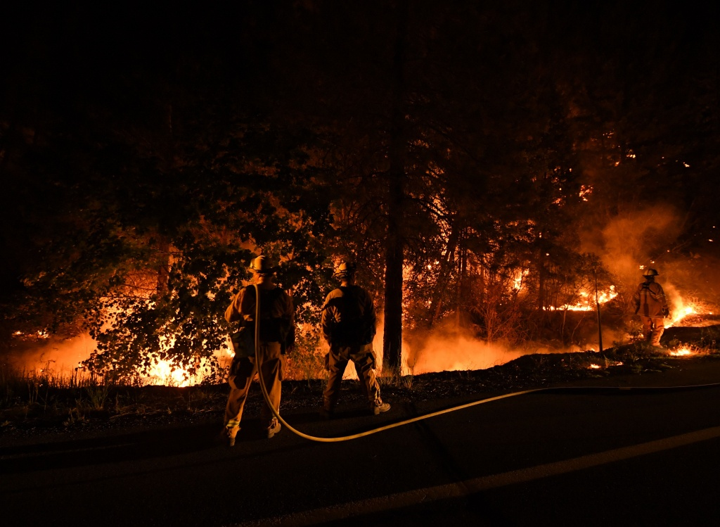 2018 California Wildfire Map Shows 14 Active Fires | Time - California Active Wildfire Map