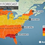 2018 Spring Allergy Forecast: Pollen Levels To Soar Early In The   Florida Pollen Map