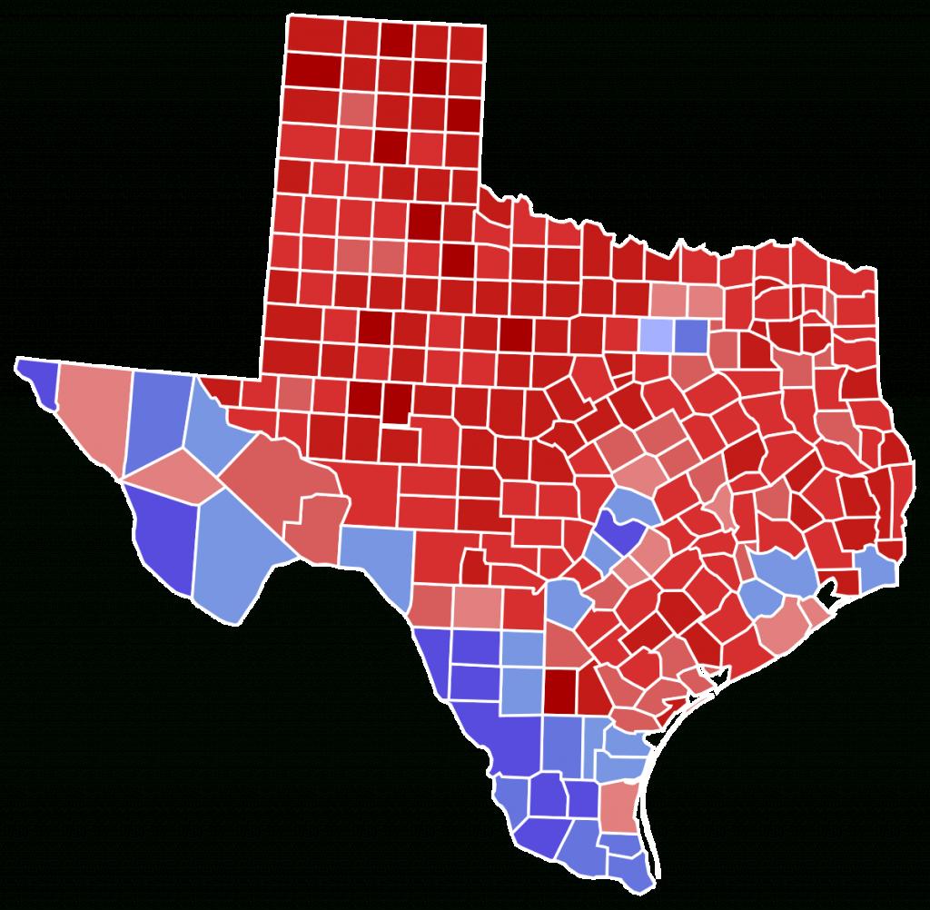 2018 United States Senate Election In Texas - Wikipedia - Map Beto For Texas