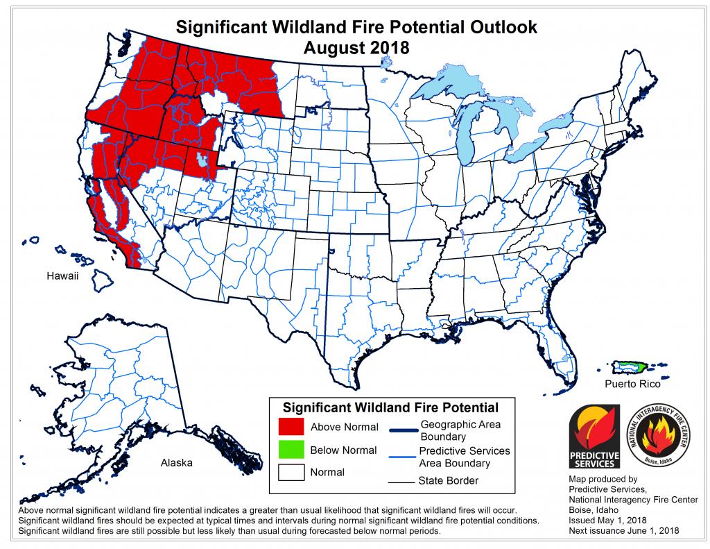 2018 Wildfire Season - Wikipedia - West Texas Fires Map