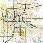 2019 2020 State Map   Road Map Of Texas And Oklahoma