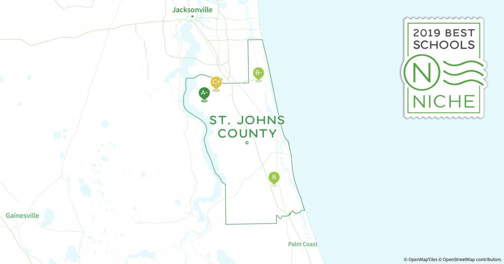 2019 Best Public Elementary Schools In St. Johns County, Fl - Niche - St Johns Florida Map