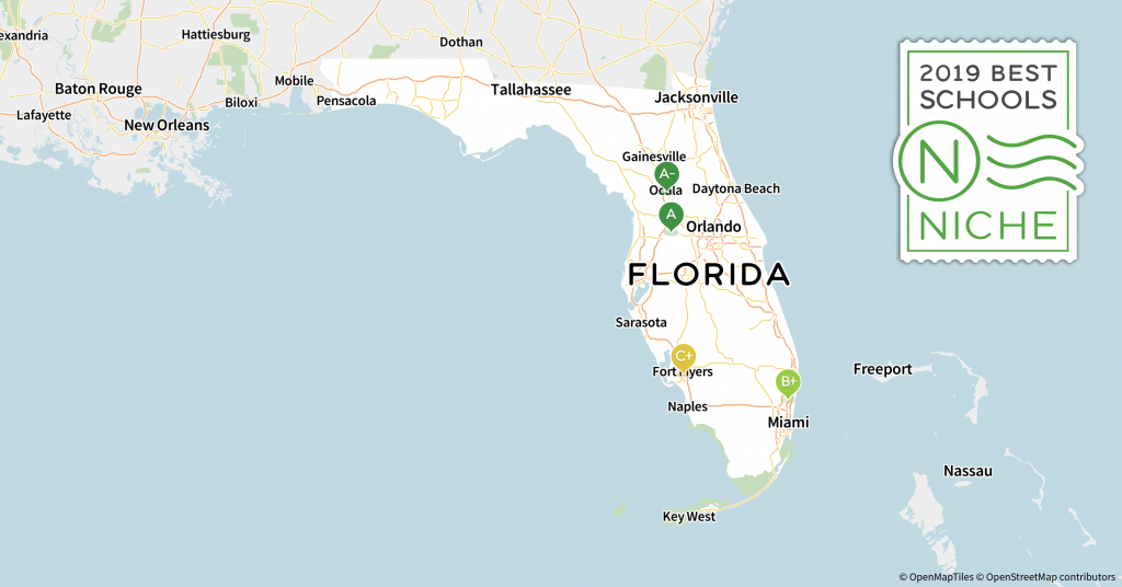 2019 Best School Districts In Florida - Niche - Florida School Districts Map
