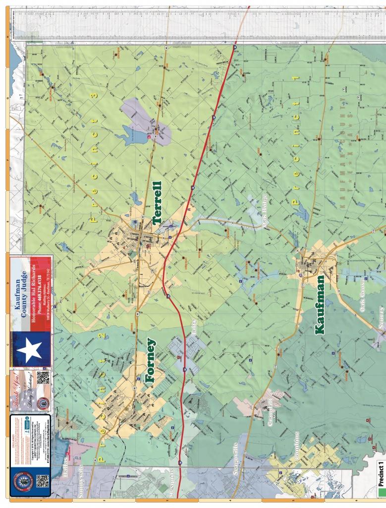 2019 Edition Map Of Kaufman County, Tx   Anyflip - Kaufman Texas Map