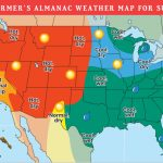2019 Summer Forecast: Hotter Temps Out West, Rain For Others | The   Florida Weather Map With Temperatures