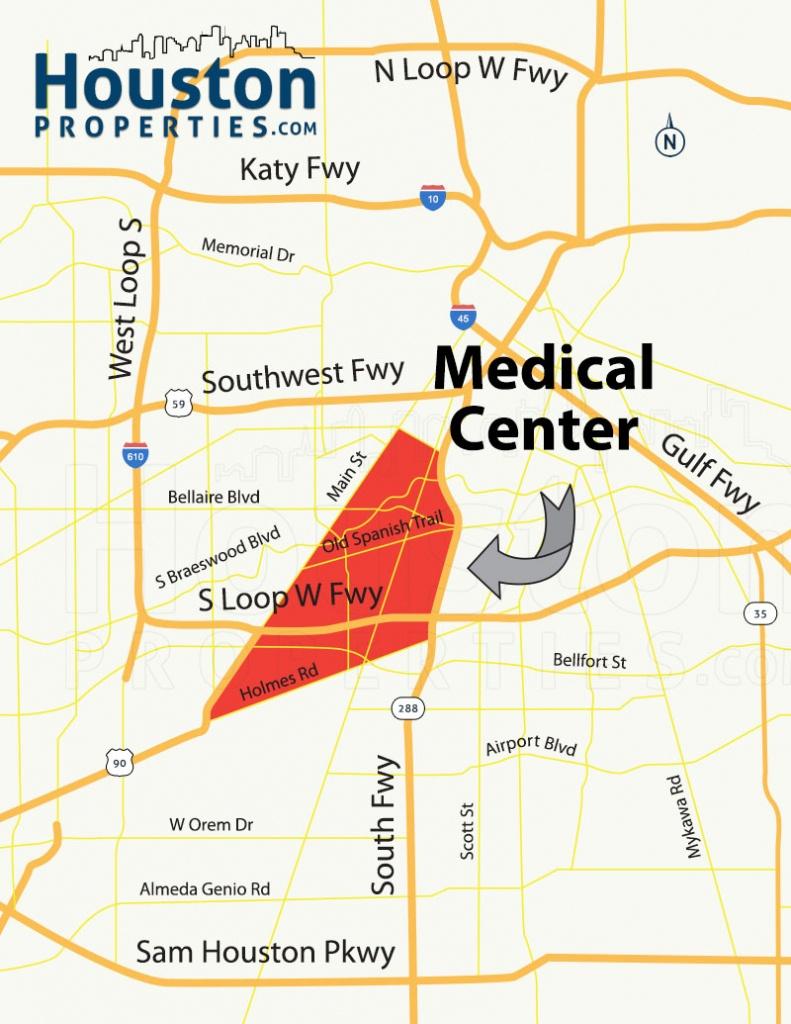 2019 Update: Houston Metro Rail Map - Neighborhoods Near Metrorail - Show Map Of Houston Texas