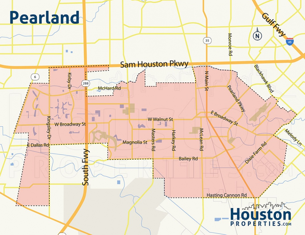 2019 Update: Pearland Neighborhood, Real Estate, Homes For Sale Guide - Map Of Subdivisions In Magnolia Texas
