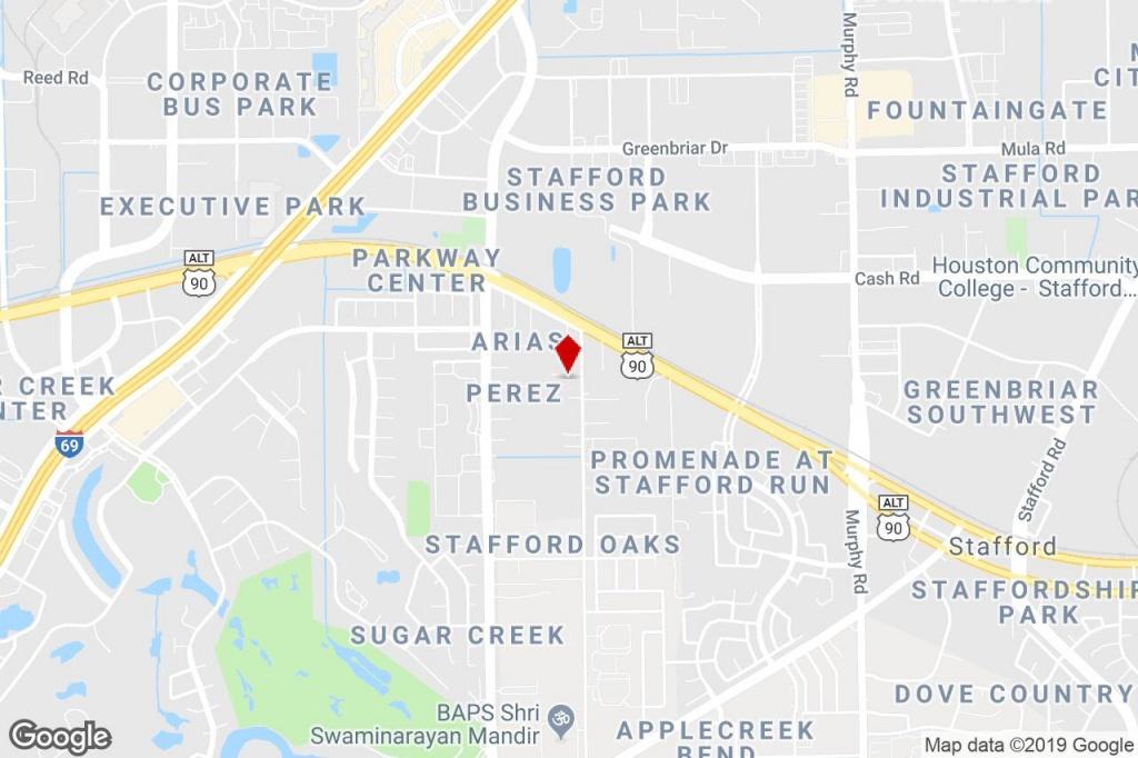 210 Brand Ln, Stafford, Tx, 77477 - Showroom Property For Sale On - Stafford Texas Map