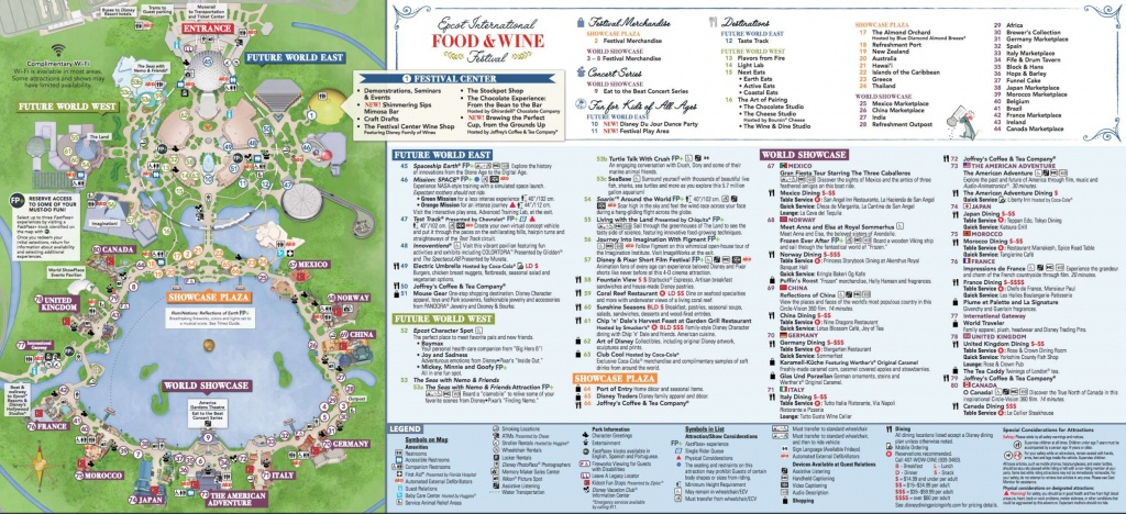 22 Printable Disney World Maps Collection – Cfpafirephoto - Printable Disney World Maps 2017