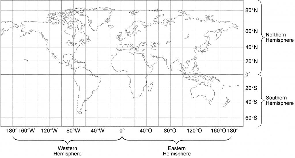 23 World Map With Latitude And Longitude Lines Pictures - Printable World Map With Latitude And Longitude