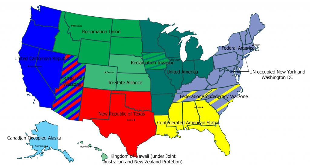 2Nd Us Civil War Map : Imaginarymaps - Texas Civil War Map