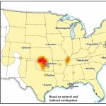 3/28/2016 — New Usgs Earthquake Hazard Map Includes Fracking   Fracking In Texas Map