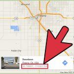 3 Manières De Obtenir La Latitude Et La Longitude Sur Google Maps   Fresno California Google Maps