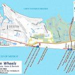 30A & Destin Beach Access   Destin Wheels Rentals In Destin, Fl   Florida Map Destin Fl