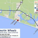 30A & Destin Beach Access – Destin Wheels Rentals In Destin, Fl – Map Of Destin Florida Area