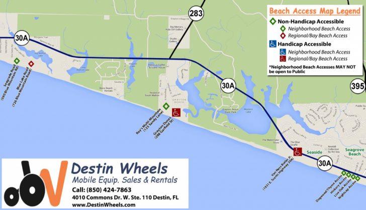 Map Of Destin Florida Area