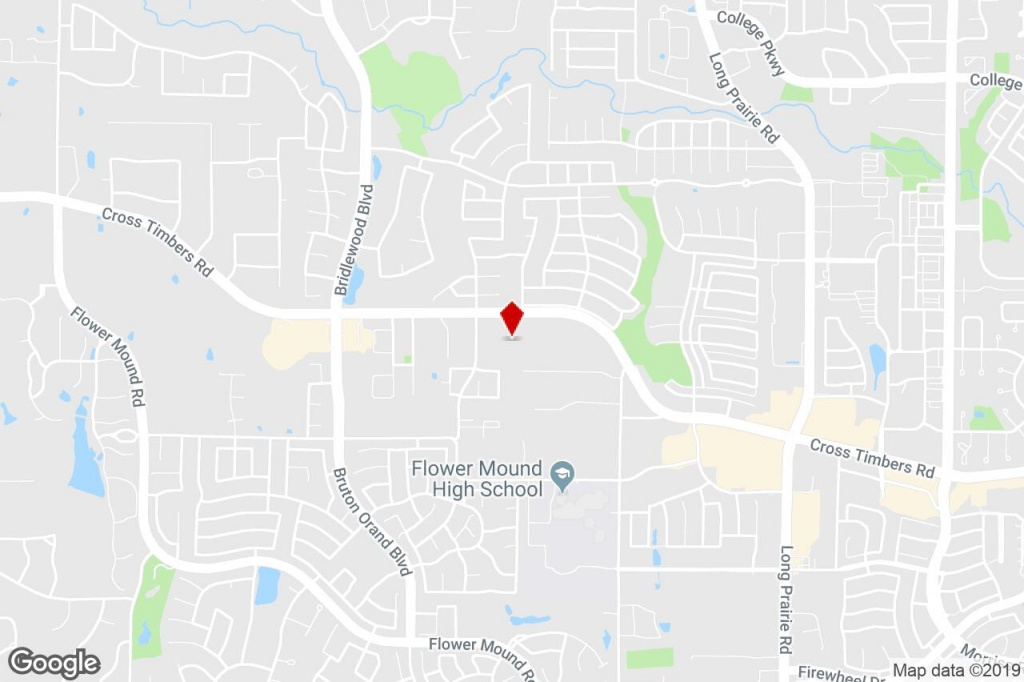 3611 Cross Timbers Rd, Flower Mound, Tx, 75028 - Commercial Property - Flower Mound Texas Map