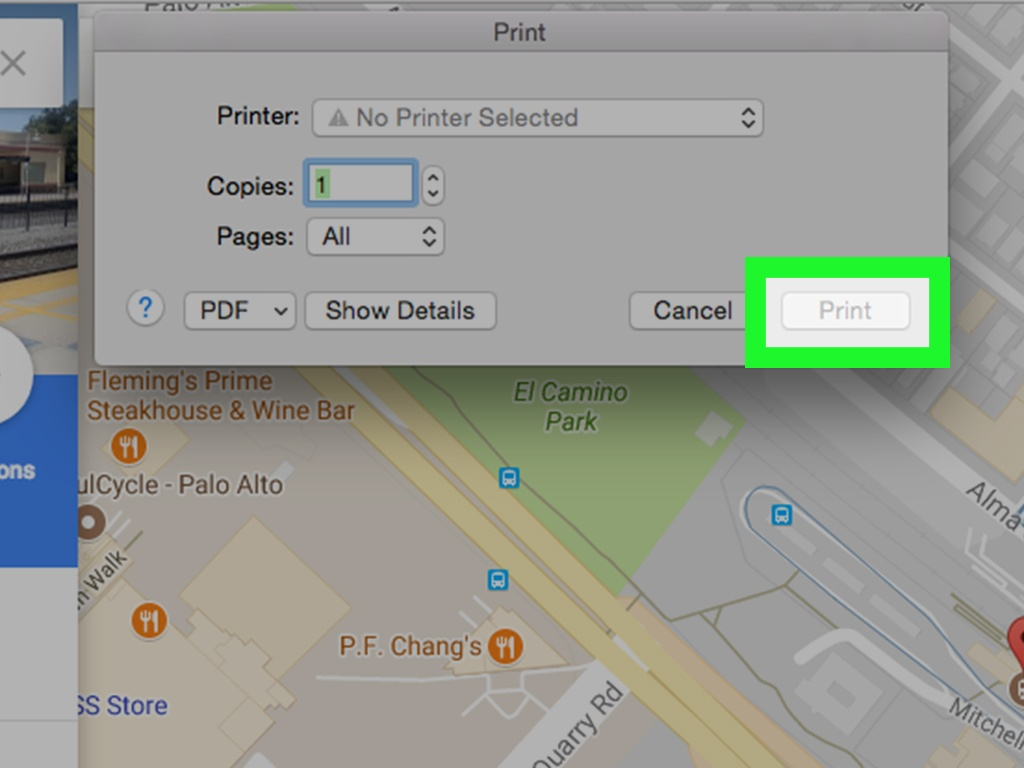 4 Easy Ways To Print Google Maps (With Pictures) - Wikihow - Google Earth Printable Maps
