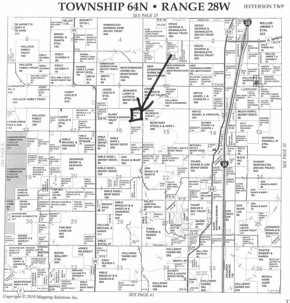 40 Acres In Harrison County, Missouri - Texas County Mo Property Map