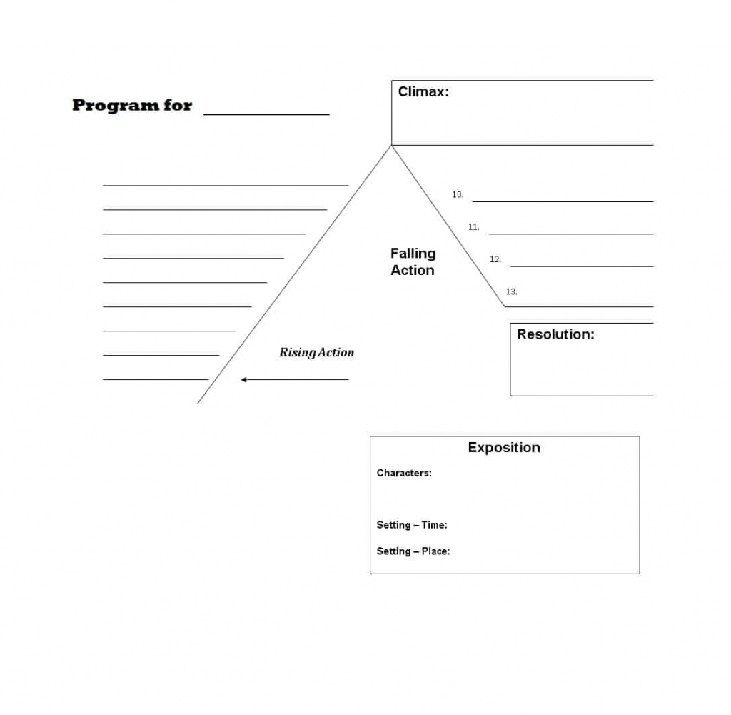 45 Professional Plot Diagram Templates (Plot Pyramid) ᐅ Template Lab - Plot Map Printable