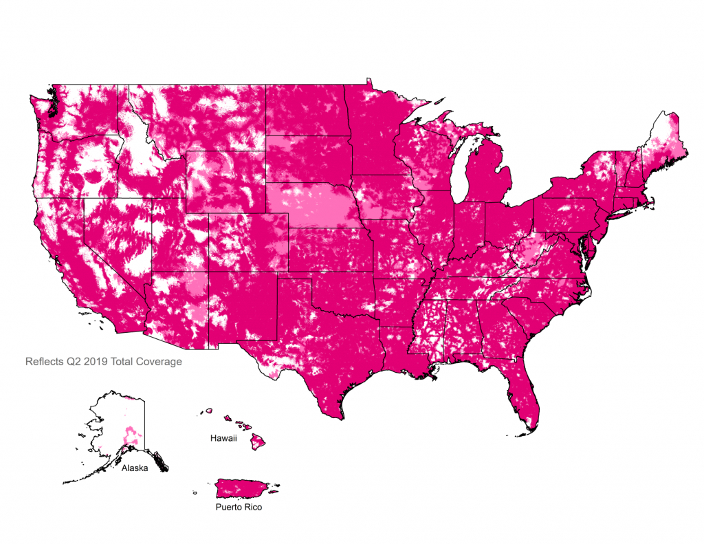 4G Lte Coverage Map | Check Your 4G Lte Cell Phone Coverage | T-Mobile - T Mobile Coverage Map Texas