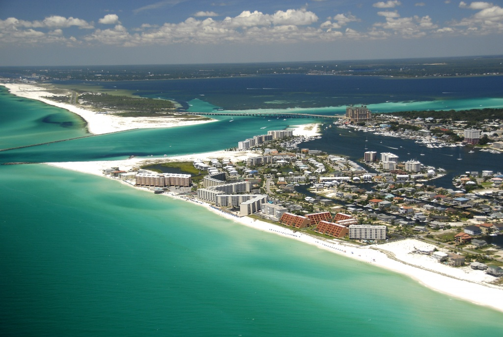 5 Emerald Coast Beaches With Sugar White Sand | Visit Florida - Map Of Destin Florida And Surrounding Cities