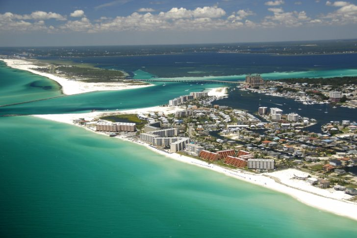 Map Of Florida Beaches Near Orlando