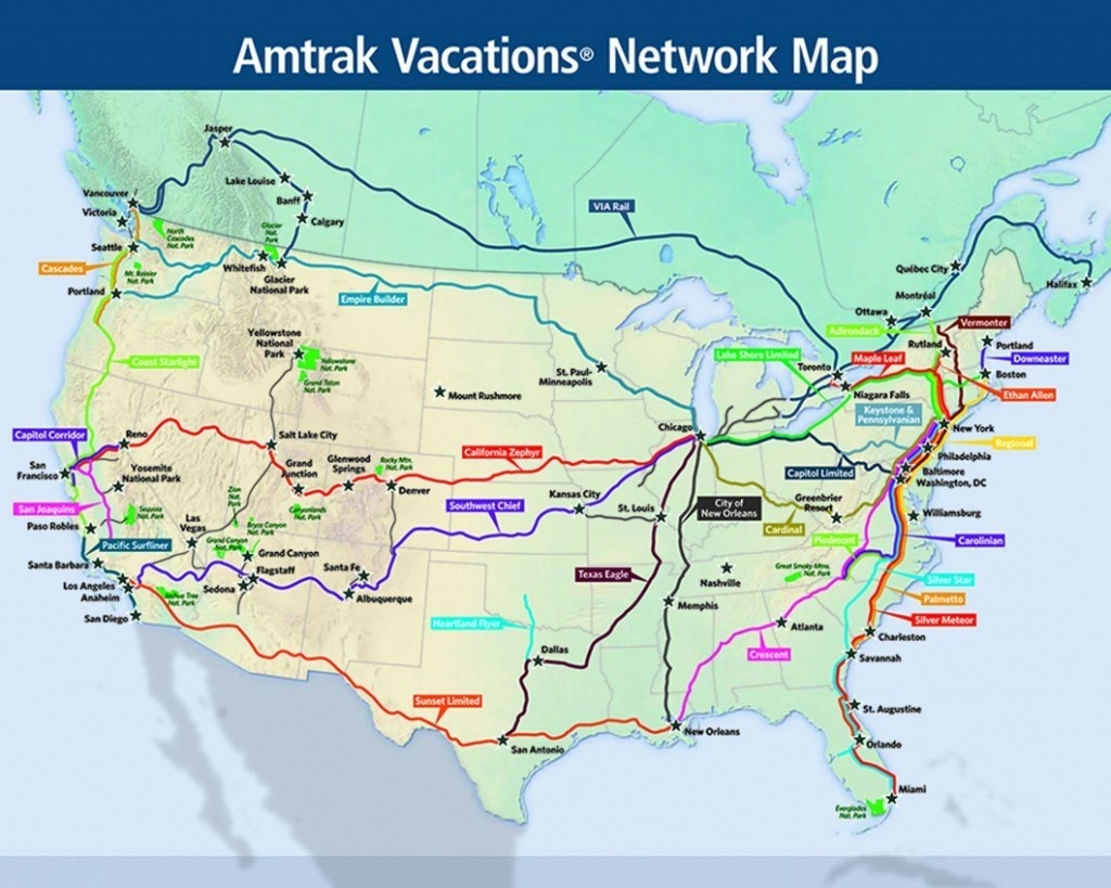 5 Iconic Train Journeys To Check Off Your Bucket List   Amtrak Vacations - Amtrak California Zephyr Route Map
